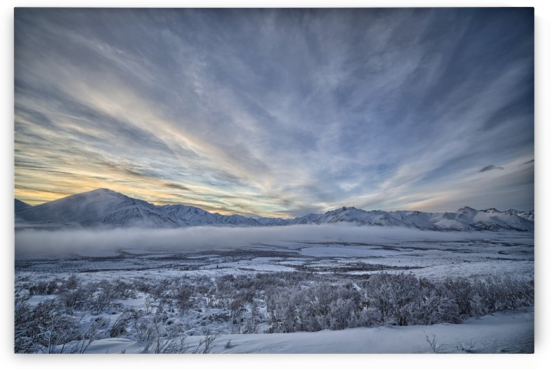 The Blackstone Valley along the Dempster Highway; Yukon, Canada by PacificStock