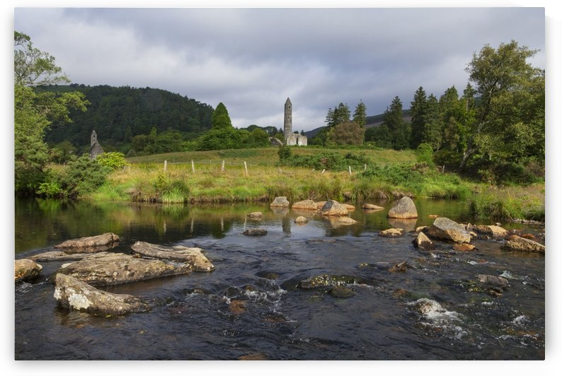 Glendalough monastery; County Wicklow, Ireland by PacificStock