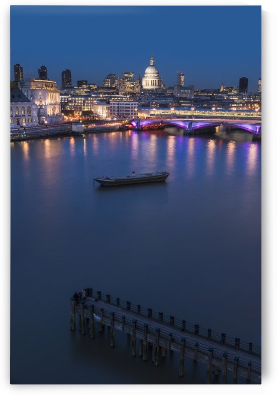 St. Paul's Cathedral and Blackfriars; London, England by PacificStock