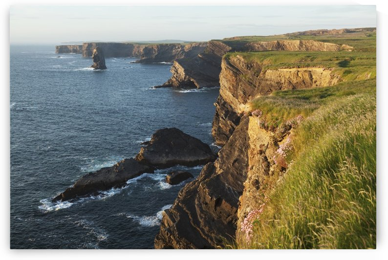 Coast south of Kilkee; County Clare, Ireland by PacificStock