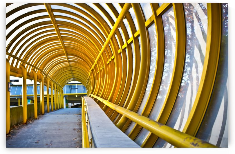 Centennial Pavilion walkway at Vancouver General Hospital; Vancouver, British Columbia, Canada by PacificStock