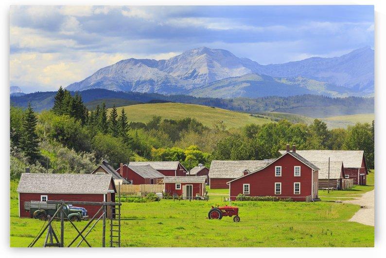 Bar U Ranch National Historic Site; Longview, Alberta, Canada by PacificStock