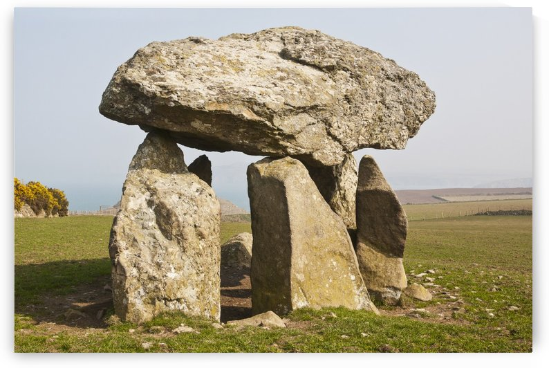 Careg Sampson dolmen, South West Wales; Wales by PacificStock