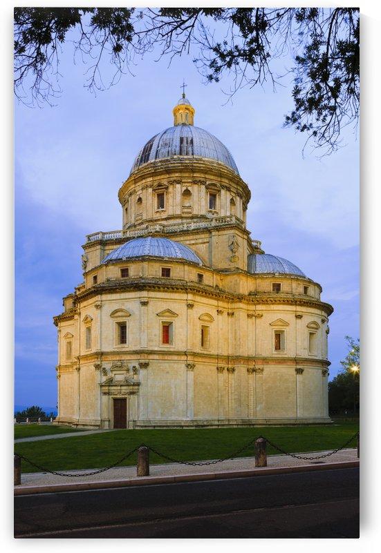 Domed Renaissance church of Santa Maria della Consolazione; Todi, Umbria by PacificStock