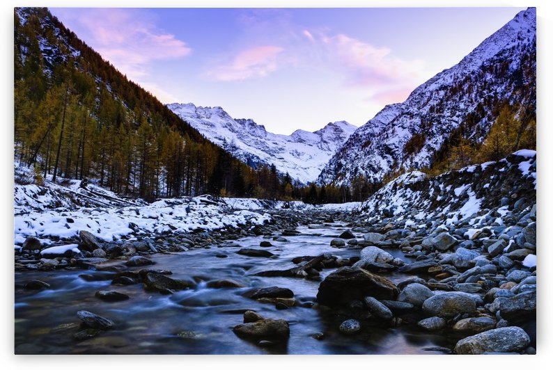 Valnontey torrent, Gran Paradiso National Park; Italy by PacificStock