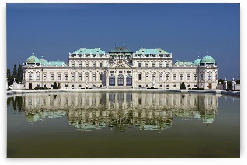 Upper Belvedere; Vienna, Austria by PacificStock