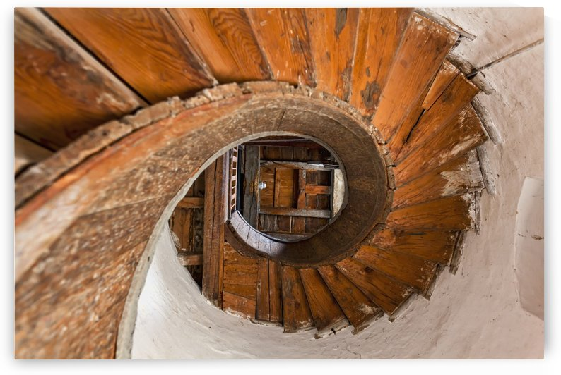 Winding stairs, Upnor Castle; Kent, England by PacificStock