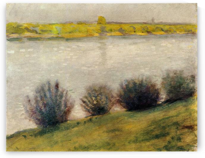 On the Rhine by August Macke by August Macke