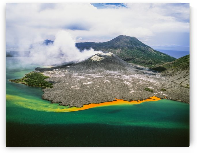 Tuvuavur Volcano; Rabaul, East New Britain, Papua New Guinea by PacificStock
