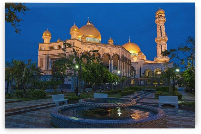 Jame'Asr Hassanil Bolkiah Mosque; Bandar Seri Begawan, Brunei by PacificStock