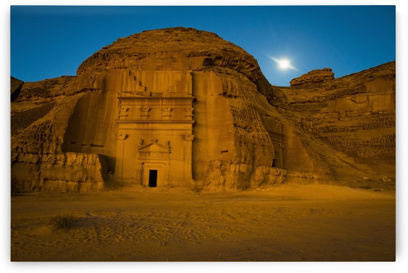 Pre-Islamic archaeological site; Madain Saleh, Saudi Arabia by PacificStock