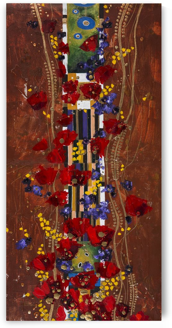 Colourful abstract painting by PacificStock