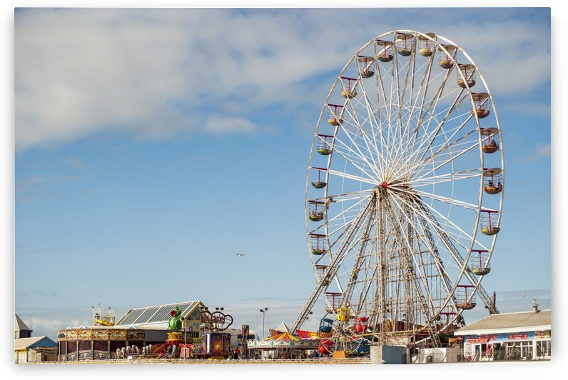 Central Pier; Blackpool, Lancashire, England by PacificStock