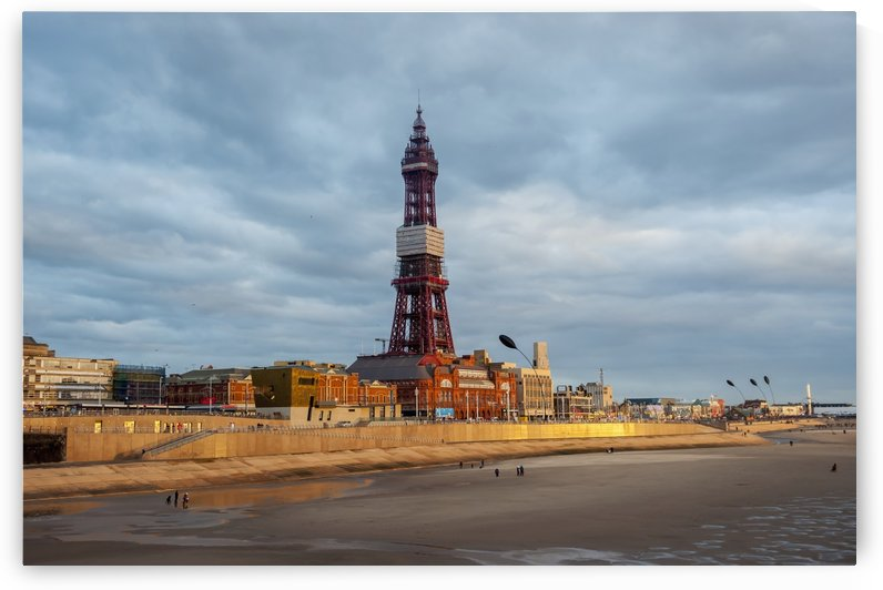 The Blackpool Tower; Blackpool, Lancashire, England by PacificStock