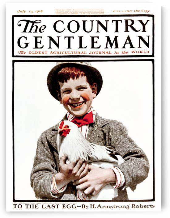 Cover of Country Gentleman agricultural magazine from the early 20th century. . by PacificStock