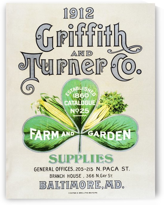 Historic Griffith and Turner Co. farm and garden supply catalog from early 20th century. by PacificStock