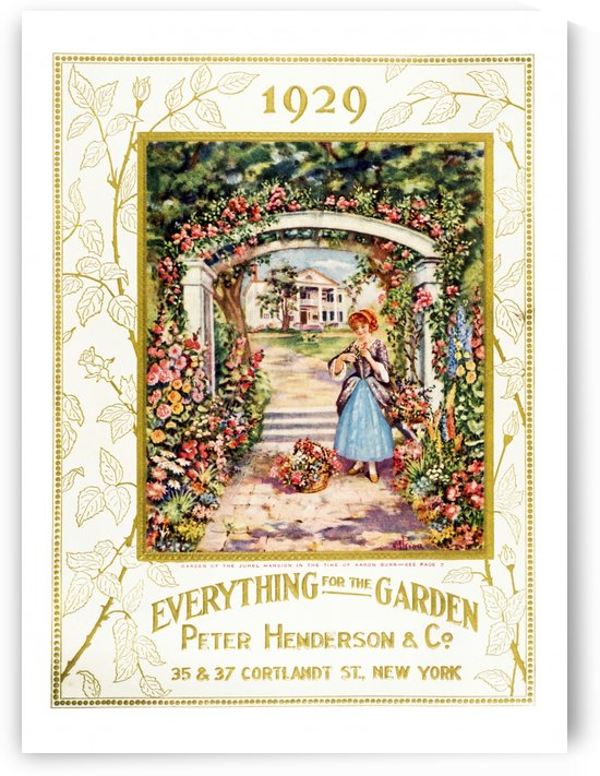 Peter Henderson & Co. garden supple catalog from 20th century. by PacificStock