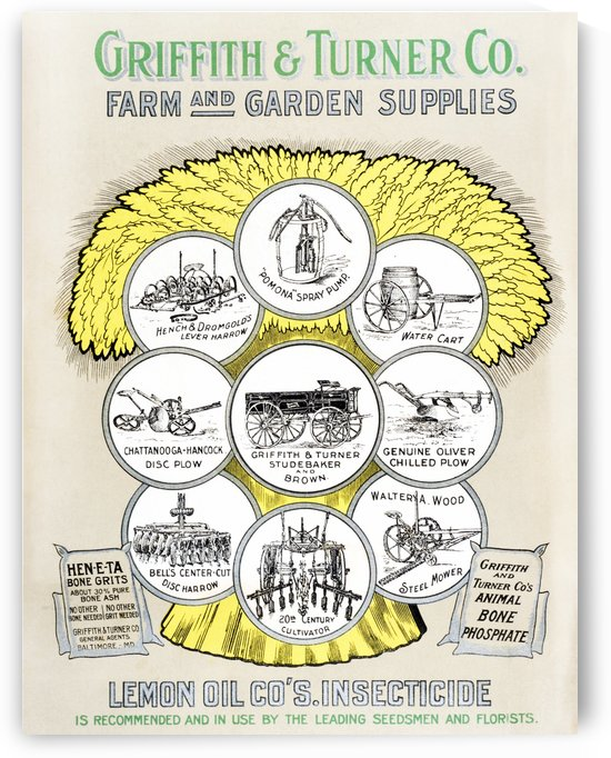 Griffith & Turner Co. farm and garden supply catalog from the 20th century. by PacificStock