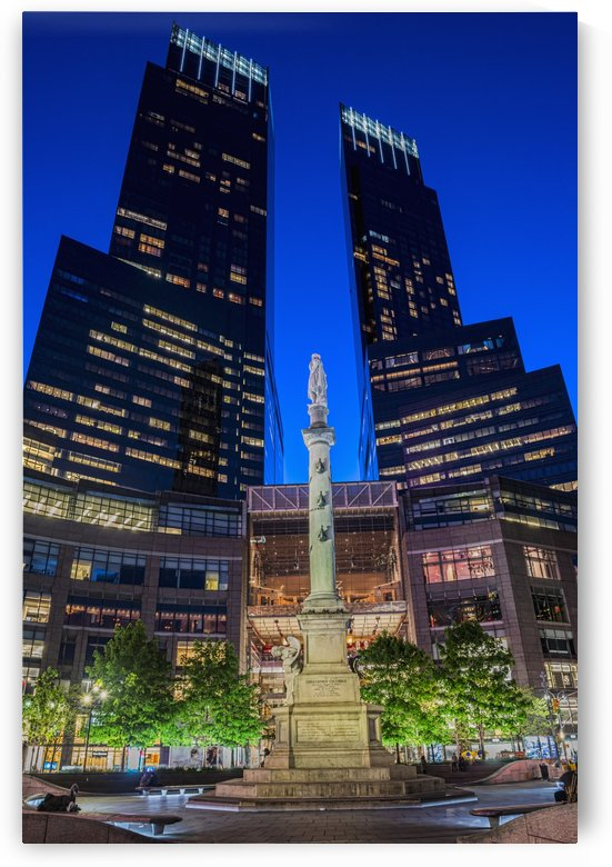 Time Warner Center; New York City, New York, United States of America by PacificStock