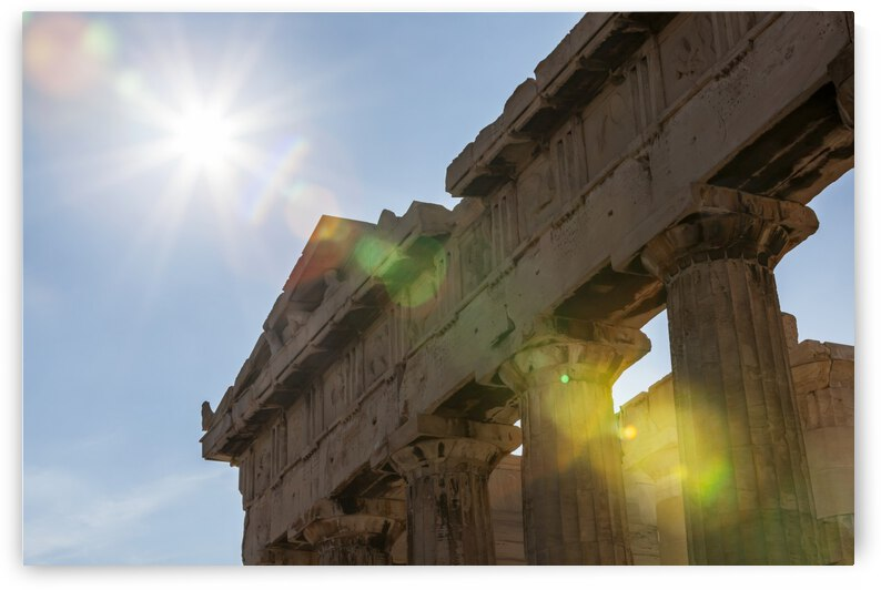 Temple of Athena; Athens, Greece by PacificStock