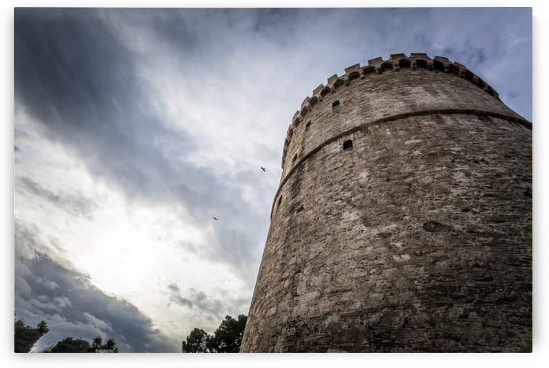 White Tower of Thessaloniki; Thessaloniki, Greece by PacificStock