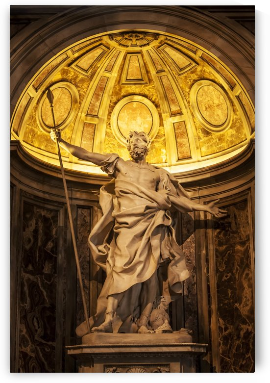 Statue in St. Peter's Basilica; Rome, Italy by PacificStock