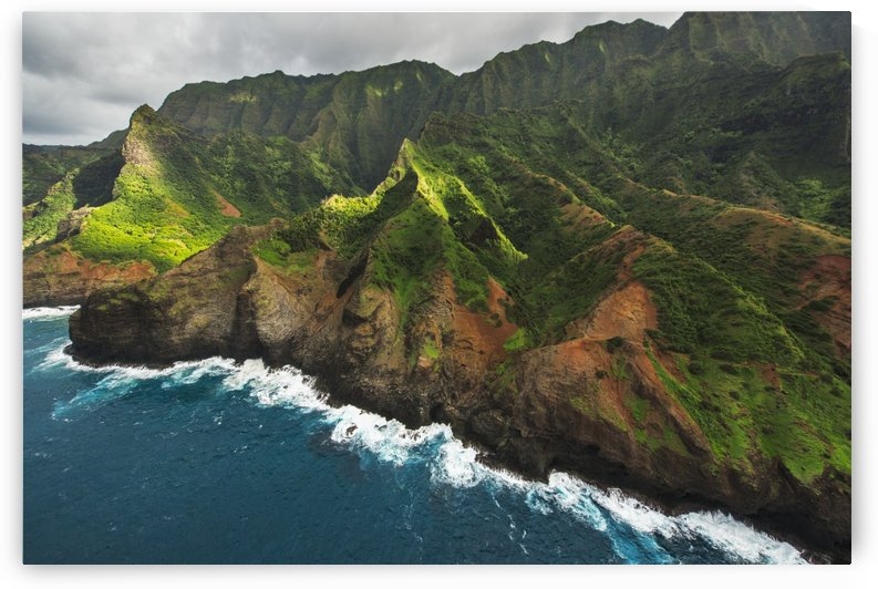 View of the Na Pali Coast; Kauai, Hawaii, United States of America by PacificStock