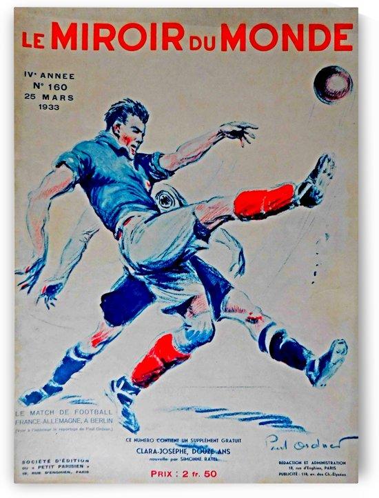Le Miroir du Monde poster by VINTAGE POSTER