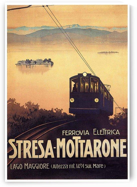 Ferrovia elettrica Stresa by VINTAGE POSTER