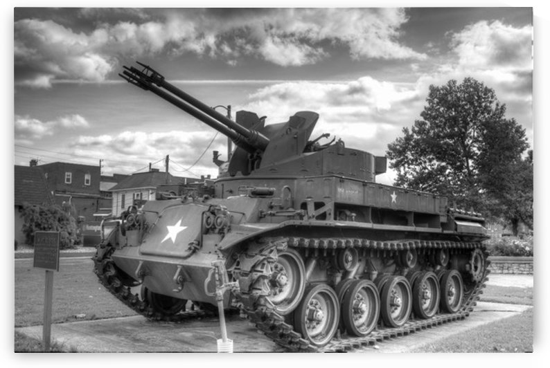 Vintage Tank by Marshall Rounds