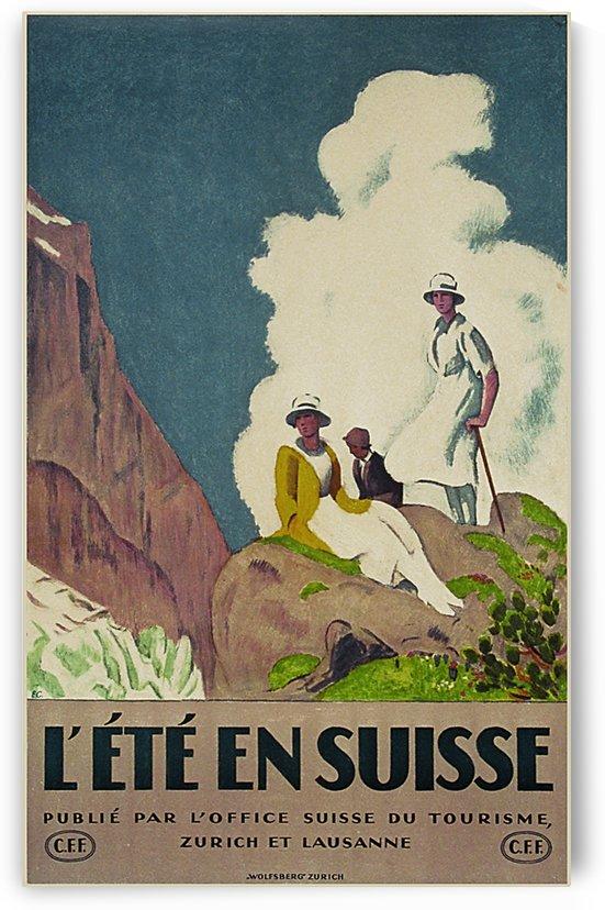 Ete en Suisse by VINTAGE POSTER