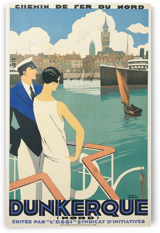 Dunkerque vintage travel poster by VINTAGE POSTER
