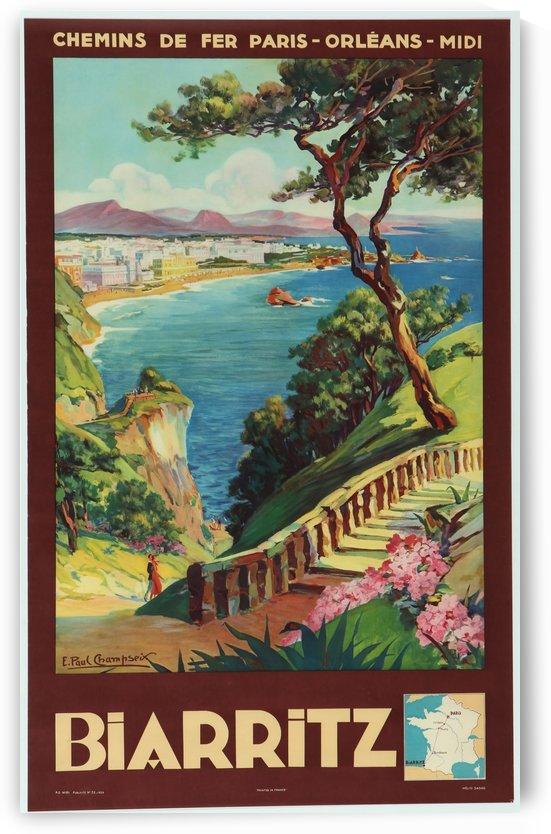 Biarritz original vintage poster by VINTAGE POSTER