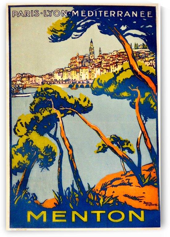 1925 Menton vintage poster by VINTAGE POSTER