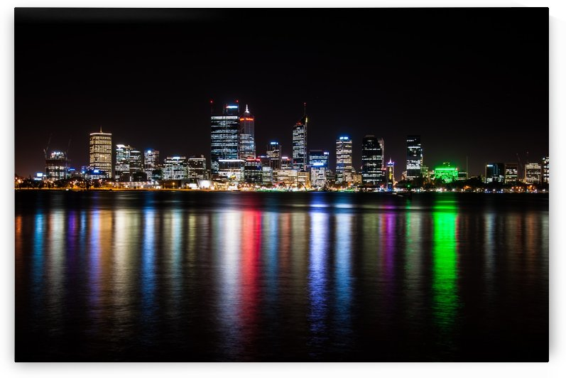 City in Color Perth by DLPSquared