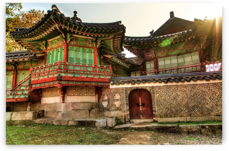 Korean Palace by DLPSquared