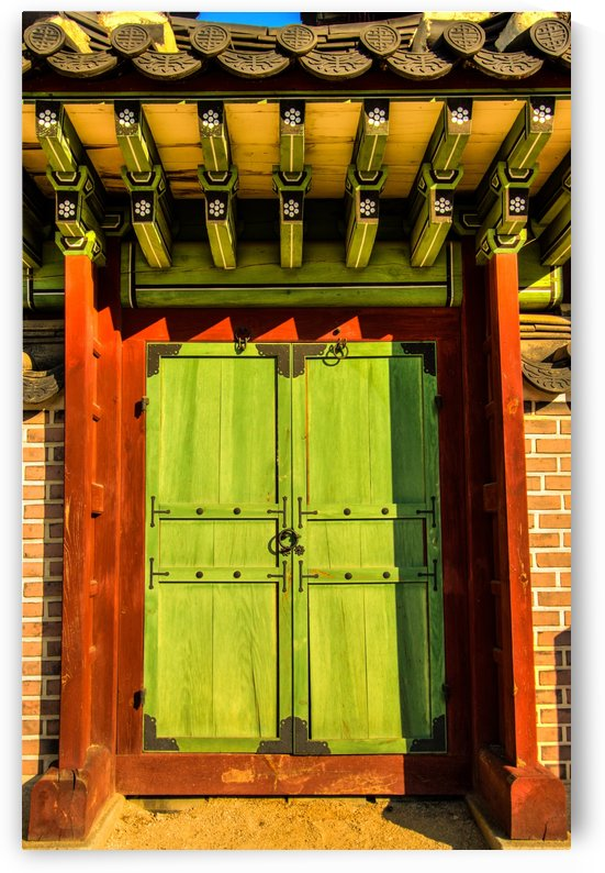 Korean Door by DLPSquared