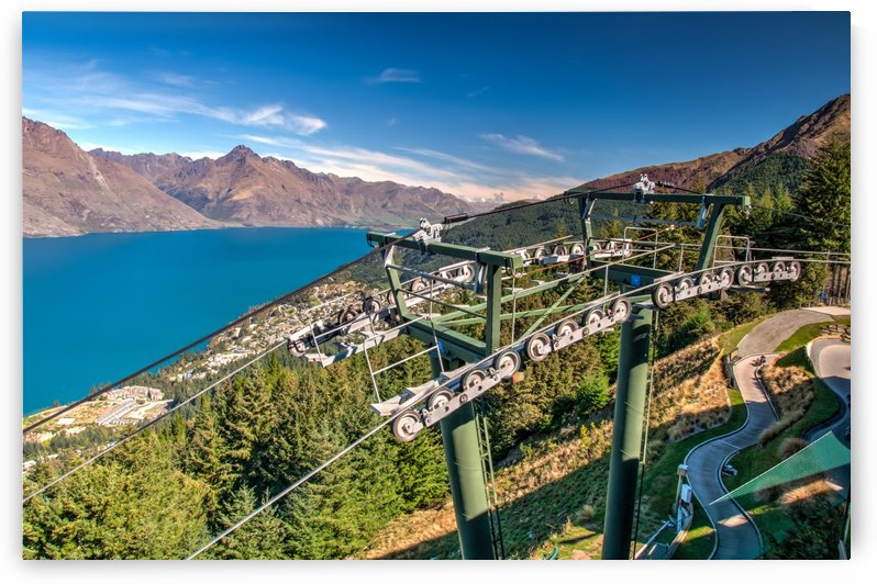 Towering over Lake Wakatipu by DLPSquared