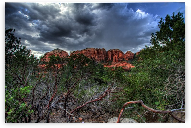 Sedona before the storm by DLPSquared