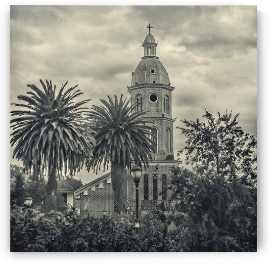 San Luis Church Otavalo Ecuador by Daniel Ferreia Leites Ciccarino