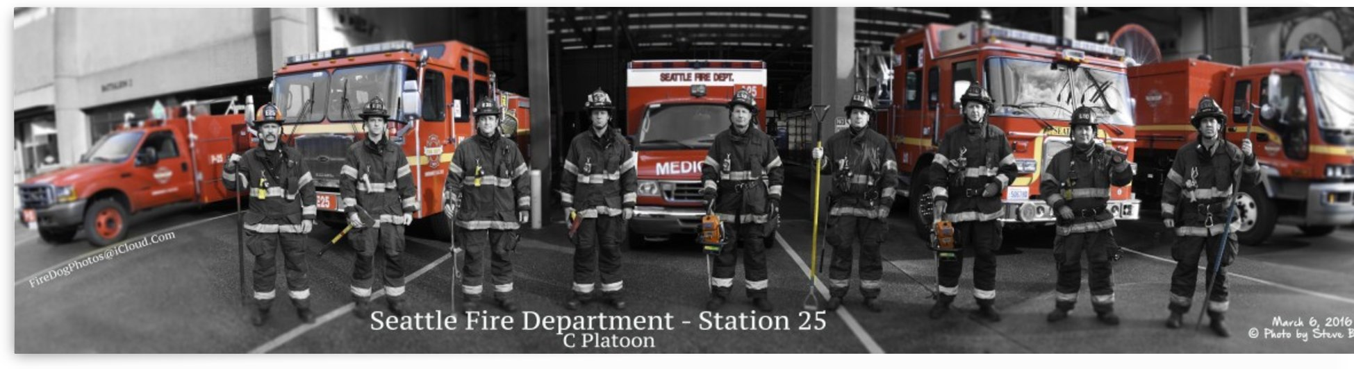 Seattle Fire Department, Station 25 B Shift by Steve