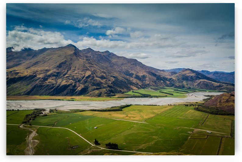 New Zealand Farming by DLPSquared