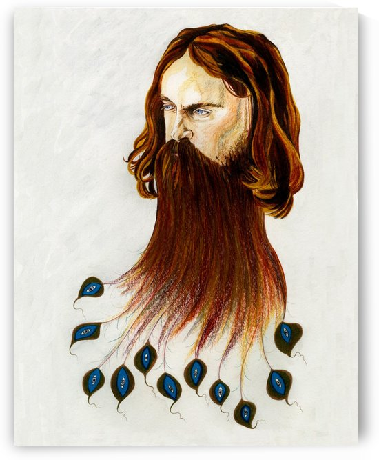 Sam Beam a.k.a. Iron & Wine by Miriam Allen