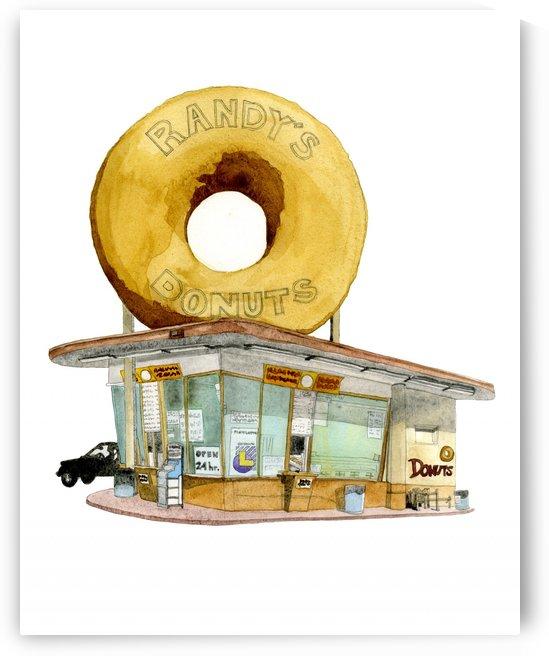Randy's Donuts by Miriam Allen