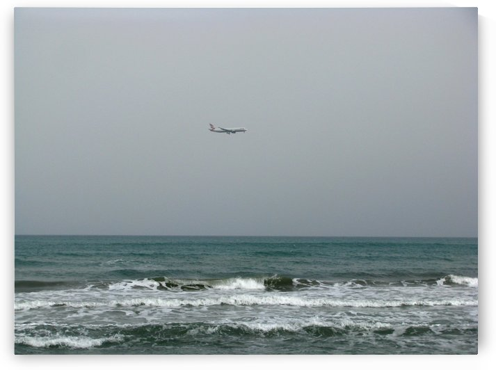 Landing in Larnaca, Cyprus by Vlad Radulian