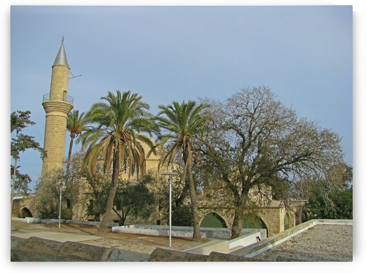 Old mosque near seashore in Cyprus by Vlad Radulian