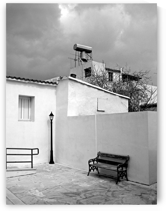 Mediterranean storm approaching Black and White by Vlad Radulian