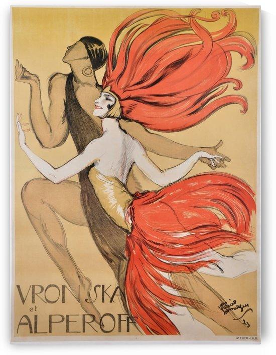 Varonska et Alperoff poster by VINTAGE POSTER