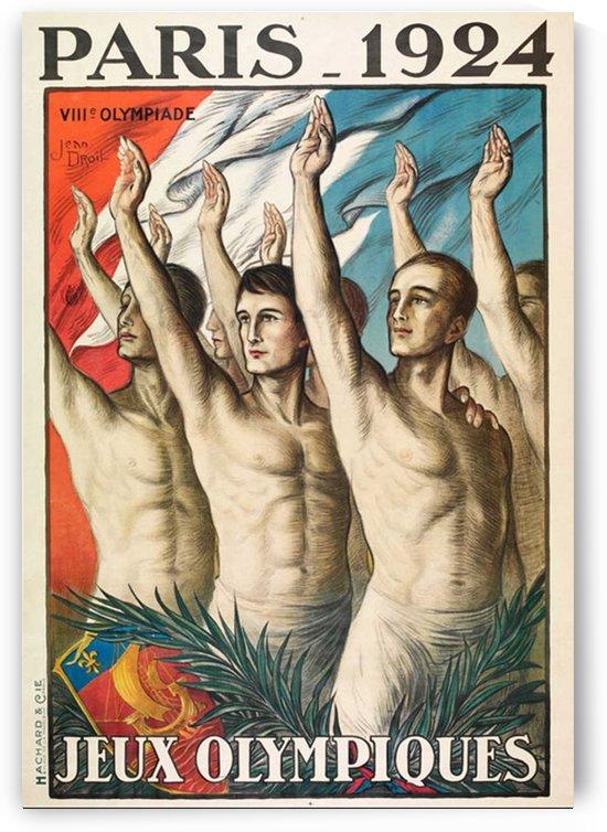 Paris 1924 Jeux Olympiques by VINTAGE POSTER