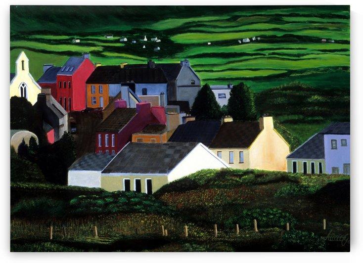 IRELAND VILLAGE by Bella Visat Artist